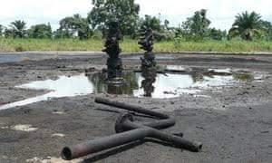 Oil spill community