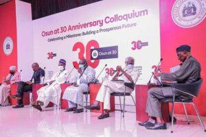 Osun 30yh anniversary colloquium