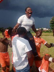 Ife East celebrating victory