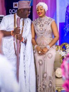 Ooni Ogunwusi and wife