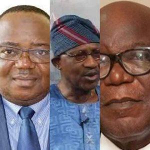 The deceased Nigerian professors