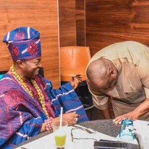 Oluwo and Dele Momodu