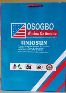 WINDOW ON AMERICA OPENS IN UNIOSUN TEACHING HOSPITAL OSOGBO
